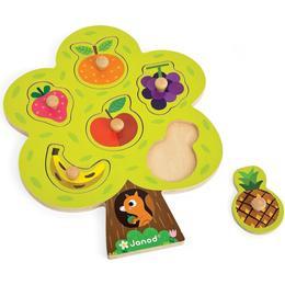 Janod Fruit Tree Puzzle 6 Pieces