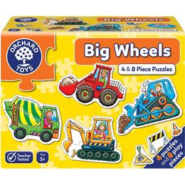 Orchard Toys Big Wheels 12 Pieces
