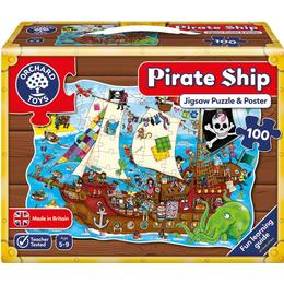 Orchard Toys Pirate Ship 100 Pieces