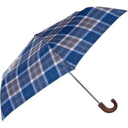 Barbour Tartan Mini Umbrella Sage