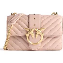 Pinko Mini Love Icon V Quilt Bag - Rose Dust Pink