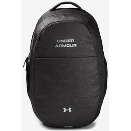 Under Armour Hustle Signature Backpack - Jet Grey/Metallic Silver