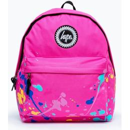 HYPE Paint Splatter Backpack - Pink