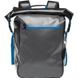 Stormtech Kemano Backpack - Black/Graphite/Azure Blue