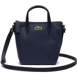 Lacoste Women'sL.12.12 Concept Petit Piqué Mini Zip Tote Bag - Eclipse