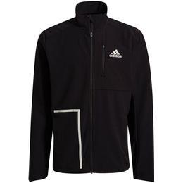 Adidas Own The Run Soft Shell Jacket Men - Black
