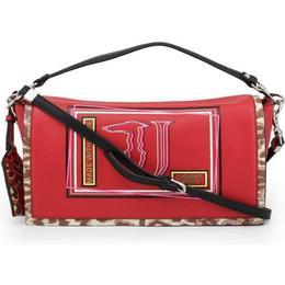 Trussardi Liquirizia Shoulder Bag - Red