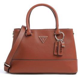 Guess Cordelia Saffiano Handbag - Cognac