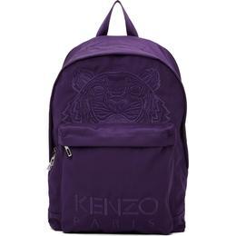 Kenzo Kampus Tiger Backpack - Aubergine