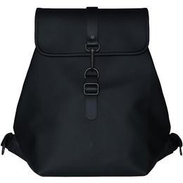 Rains Bucket Backpack - Black