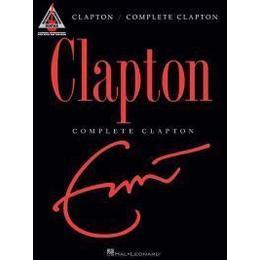 Clapton Eric Complete Clapton Guitar Recorded Version Gtr Tab Book (Guitar Recorded Versions)