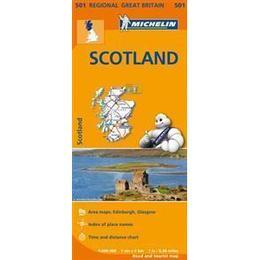 Scotland Regional Map 501 (Michelin Regional Maps)