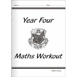 KS2 Maths Workout Book - Year 4