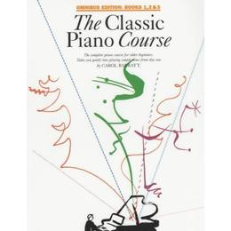 The Classic Piano Course: Books 1-3