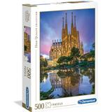 Classic Jigsaw Puzzles Clementoni High Quality Collection Barcelona 500 Pieces