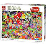 King Comic Collection World Darts 180 1000 Pieces
