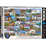 Eurographics Globetrotter France 1000 Pieces