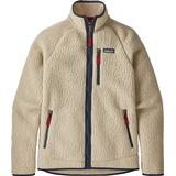 Fleece Tops Men's Clothing Patagonia Retro Pile Fleece Jacket - El Cap Khaki