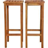 Outdoor Furniture vidaXL 44016 2-pack Bar Stool