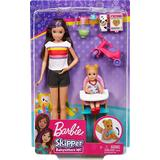 Fashion Doll Accessories Barbie Skipper Babysitters Inc Feeding Toddler Doll GHV87