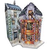 3D-Jigsaw Puzzles Wrebbit Harry Potter Weasley's Wizard Wheezes & Daily Prophet 285 Pieces