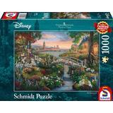 Classic Jigsaw Puzzles Schmidt Thomas Kinkade Disney 101 Dalmatians 1000 Pieces