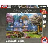 Classic Jigsaw Puzzles Schmidt Dominic Davison Victorian Mansion 1000 Pieces