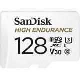 Memory Cards & USB Flash Drives SanDisk High Endurance microSDXC Class 10 UHS-I U3 V30 128GB +Adapter
