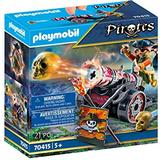 Playmobil pirate Toys Playmobil Pirate with Cannon 70415