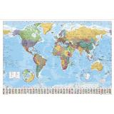Posters GB Eye World Map 100x140cm Poster