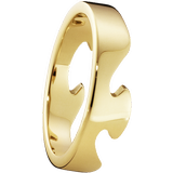 Rings Georg Jensen Fusion End Ring - Gold