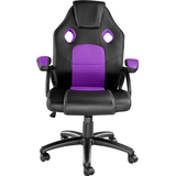 Gaming Chairs tectake Mike Gaming Chair - Black/Purple