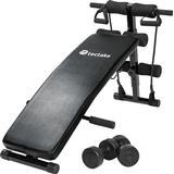 tectake Sit Up Bench and Workout Set