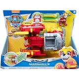 Toy Cars Spin Master Paw Patrol Marshall's Powered Up Firetruck