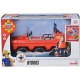 Toy Vehicles on sale Simba Firefighter Sam Hydrus & Figure