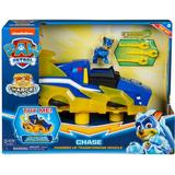 Toy Cars Spin Master Paw Patrol Mighty Pups Charged Up Chase's Charged Up Deluxe Vehicle