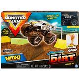 Toy Cars Spin Master Monster Jam Ma-D Monster Dirt Deluxe Set 1:64