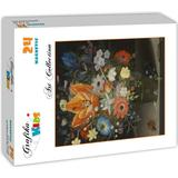 Classic Jigsaw Puzzles Grafika Peter Binoit Still Life with Iris 1623 24 Pieces