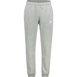 Nike Club Fleece Pants Men - Dark Gray Heather/Matte Silver/White