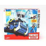 Play Set Moose Fortnite Battle Royale Collection Battle Bus