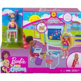 Fashion Doll Accessories Barbie Club Chelsea Doll & School