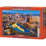 Classic Jigsaw Puzzles Castorland Fabulous Las Vegas 1500 Pieces
