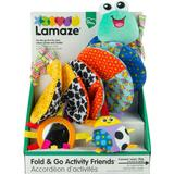 Lamaze Fold & Go Activity Friends – Infant Carrier and Stroller On-the-Go Toy