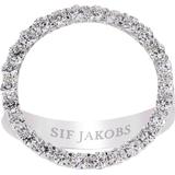 Sif Jakobs Biella Grande Ring - Silver/White
