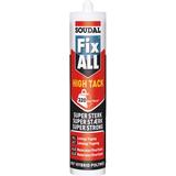 Sealant Soudal Fix All High Tack Black 290ml 1pcs