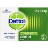 Bar Soaps Dettol Antibacterial Original Bar Soap 100g 2-pack