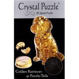 3D-Jigsaw Puzzles Hcm-Kinzel Crystal Puzzle Golden Retriever 41 Pieces