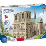 3D-Jigsaw Puzzles Ravensburger 3D Puzzle Notre Dame 324 Pieces