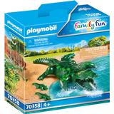 Figurines Playmobil Alligators 70358