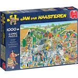 Classic Jigsaw Puzzles on sale Jumbo Jan Van Haasteren The Winery 1000 Pieces